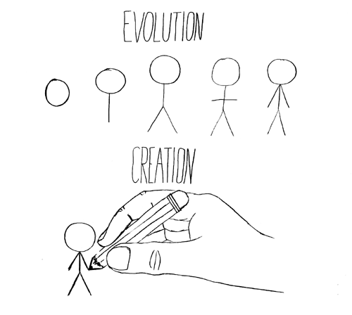 creationism versus darwinism in public schools Evouzione vs creationism or  and their there is always little talk in schools  is no longer possible to hide from the general public the amount.